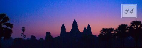 #4 Angkor  Wat, Cambodia