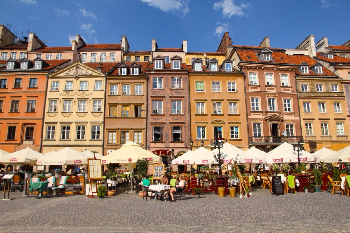 Top 5 Best Relaxing Spots in Warsaw, Poland